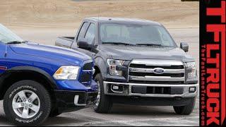 2015 ford f 150 2 7l vs ram 1500 ecodiesel mashup review speed vs torque