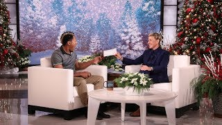 Ellen Welcomes Back Rico from 'Greatest Night of Giveaways'