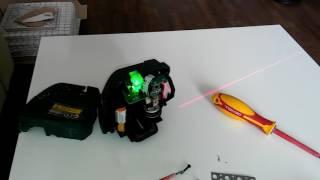 Як налаштувати лазерний рівень нівелір)