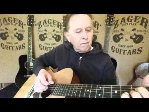 how to play affair on 8th avenue by gordon lightfoot on guitar