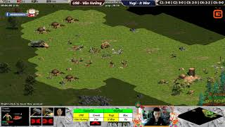 C4T5 | 2vs2 Random | U98 - Văn Hưởng vs Yugi - It War | Ngày 17-02-2019