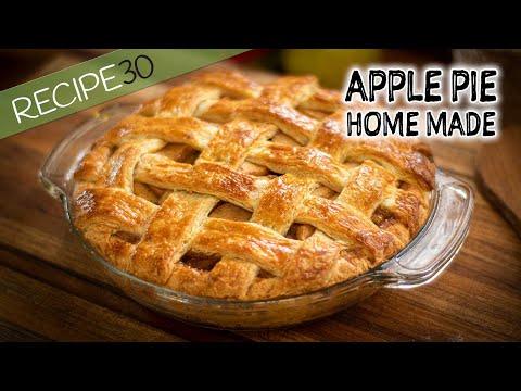 Homemade Apple Pie Crusty and Flaky
