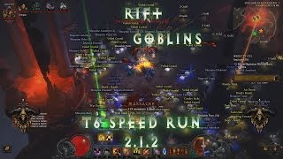 diablo iii 2 1 2 normal t6 rift with goblins demon hunter