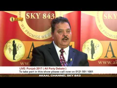 Akaal Channel Live - Punjab 2017 Debate - All Punjab Political Parties