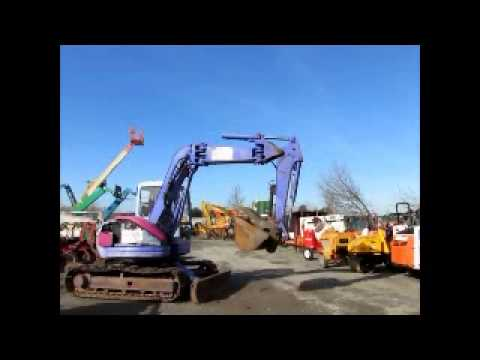 Sold! Komatsu PC75UU-2E Midi Excavator Heated Cab Hyd Thumb
