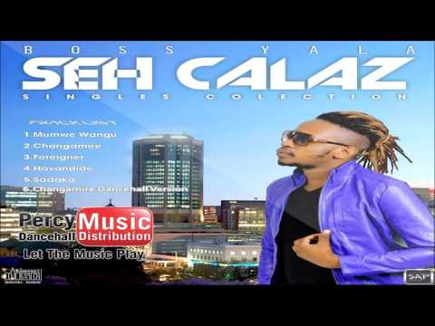 Seh Calaz - Changamire  'Dancehall Version' Cymplex Solid Records July 2017
