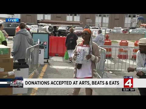 Donations for Harvey accepted at Arts, Beats and Eats