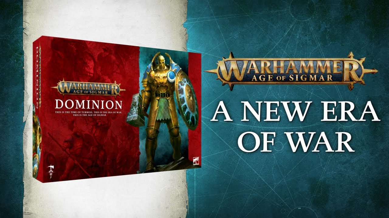Pre-order Warhammer Age of Sigmar: Dominion Today