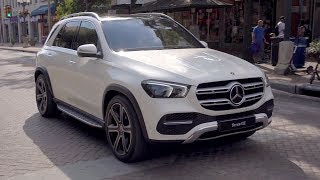 2019 Mercedes-Benz GLE 400d 4MATIC | Designo Diamond White Bright | Driving, Interior, Exterior