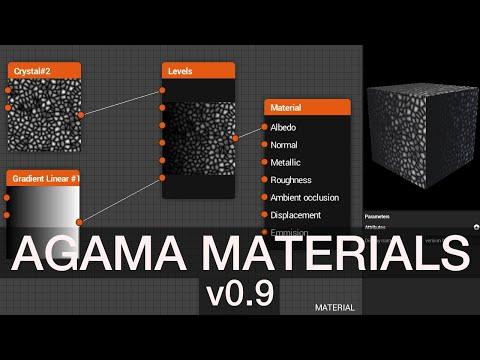 Agama materials v0.9 - HDRI and shapes