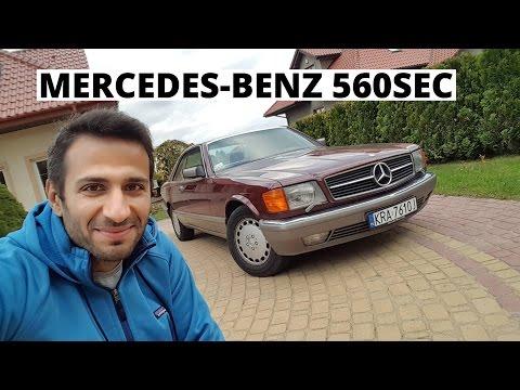 Nowe auto - prezent na 40-stkę - Mercedes-Benz 560 SEC