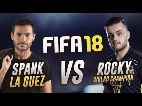 FIFA 18 - LA GUEZ VS ROCKY !