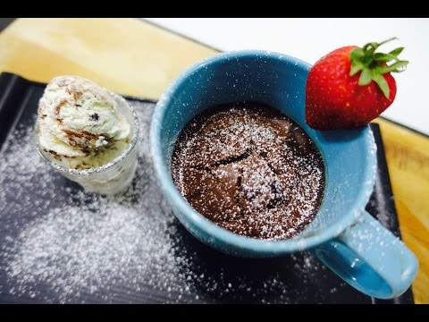 Hot Chocolate Mug Cake Recipe | Super Quick Chocolate Mug Cakes | DeepikaKheri's Kitchen