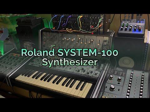 Roland SYSTEM 100 Synthesizer (1975) - AV Test
