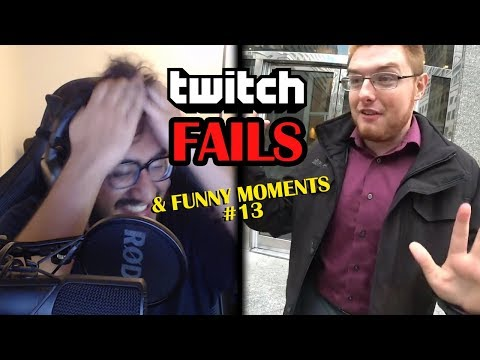 TOP Twitch Fails & Funny Moments Compilation 2017 #13