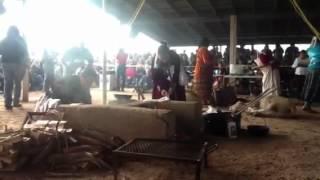 Miss Navajo Nation 2012 butchering pt 1
