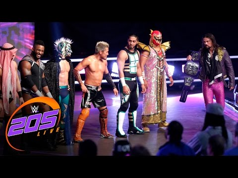 WWE 205 Live debuts by introducing the Cruiserweights: WWE 205 Live, Nov. 29, 2016