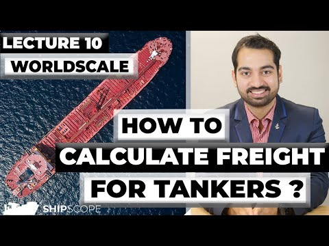 How to calculate freight for Tankers? Worldscale