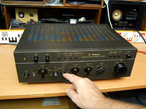 Technics SU 8080 Stereo Amp Amplifier Verstärker Zesilovač Top Vintage Technics - YouTube
