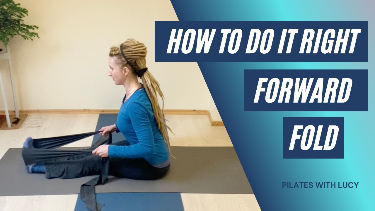 How To Do Seated Forward Fold - Pilates Stretches