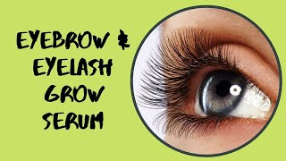 How to GROW Eyebrows FAST (Thick & Natural) |How to GROW Eyelashes FAST (Long & Thick)