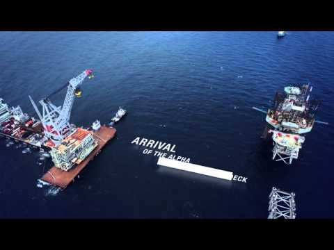 Cygnus: 2nd offshore installation campaign