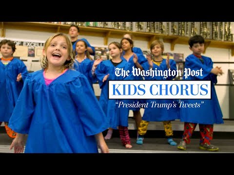 The Washington Post's Kids Chorus Singing President Trump