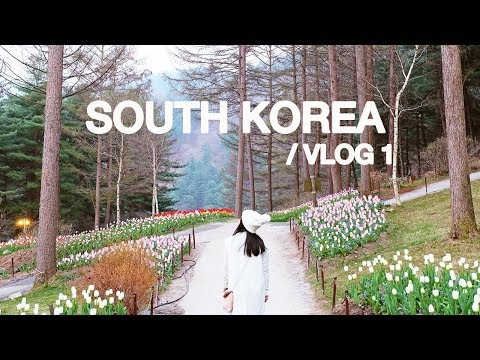 KOREA VLOG#1: Spring in Seoul (Nami Island, Petite France & Garden of Morning Calm) | Ian Sta Maria