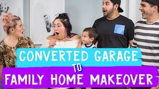 Converted Garage to Family Home Makeover! thumbnail