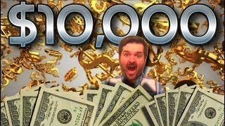 ♣♥Casino Realness w/ SDGuy♥♣ $10,000 HIGH LIMIT Slot Machine Challenge 🤑 Episode 100