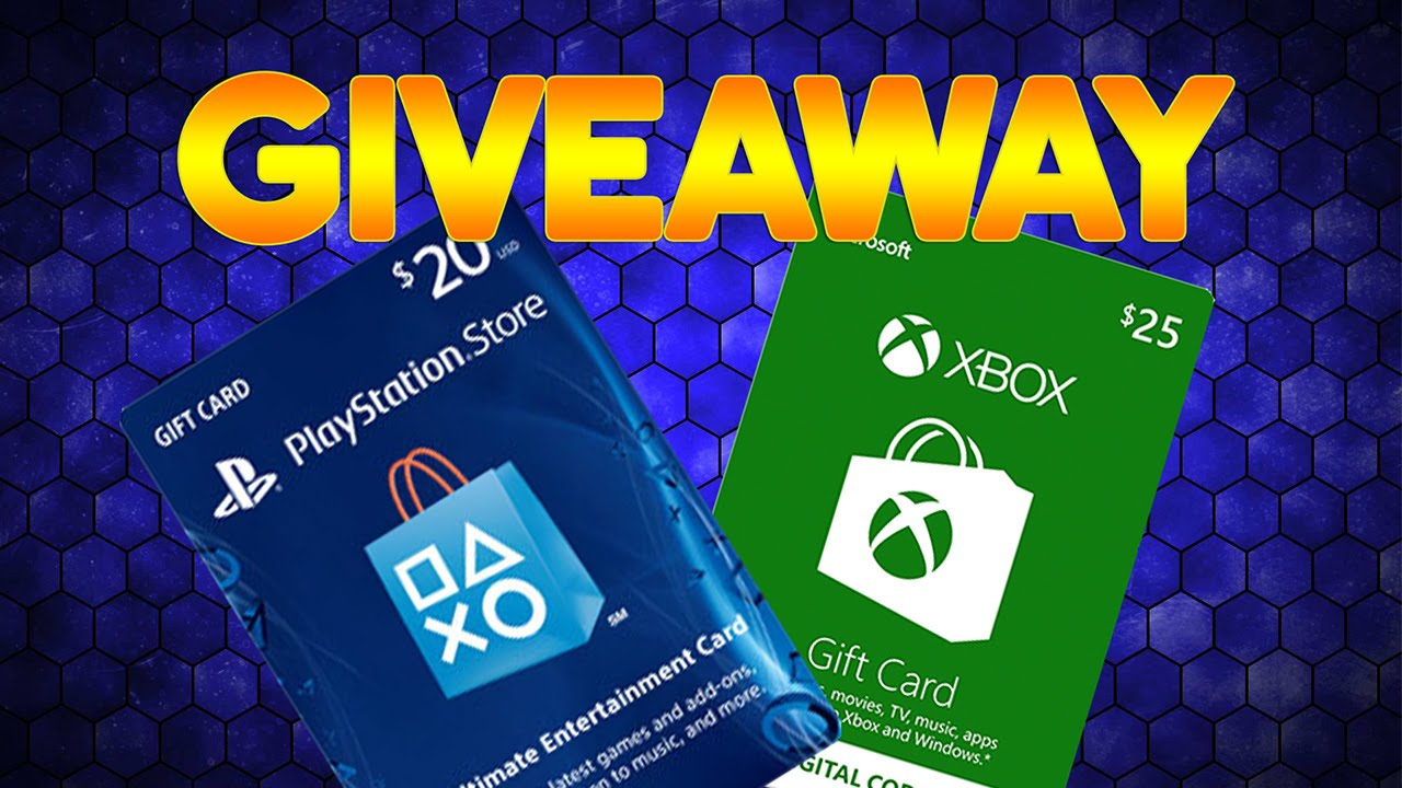 Xbox Gift Card Giveaway