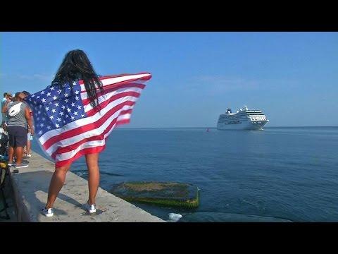 Llegó a Cuba el primer crucero desde EEUU en más de medio siglo