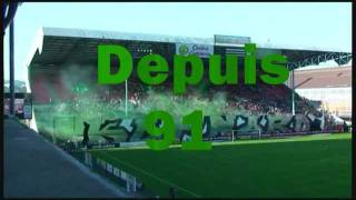 Saint-Etienne: Clip Tifos 20 ans Magic Fans 91 (1991-2011) Just Magic!!!