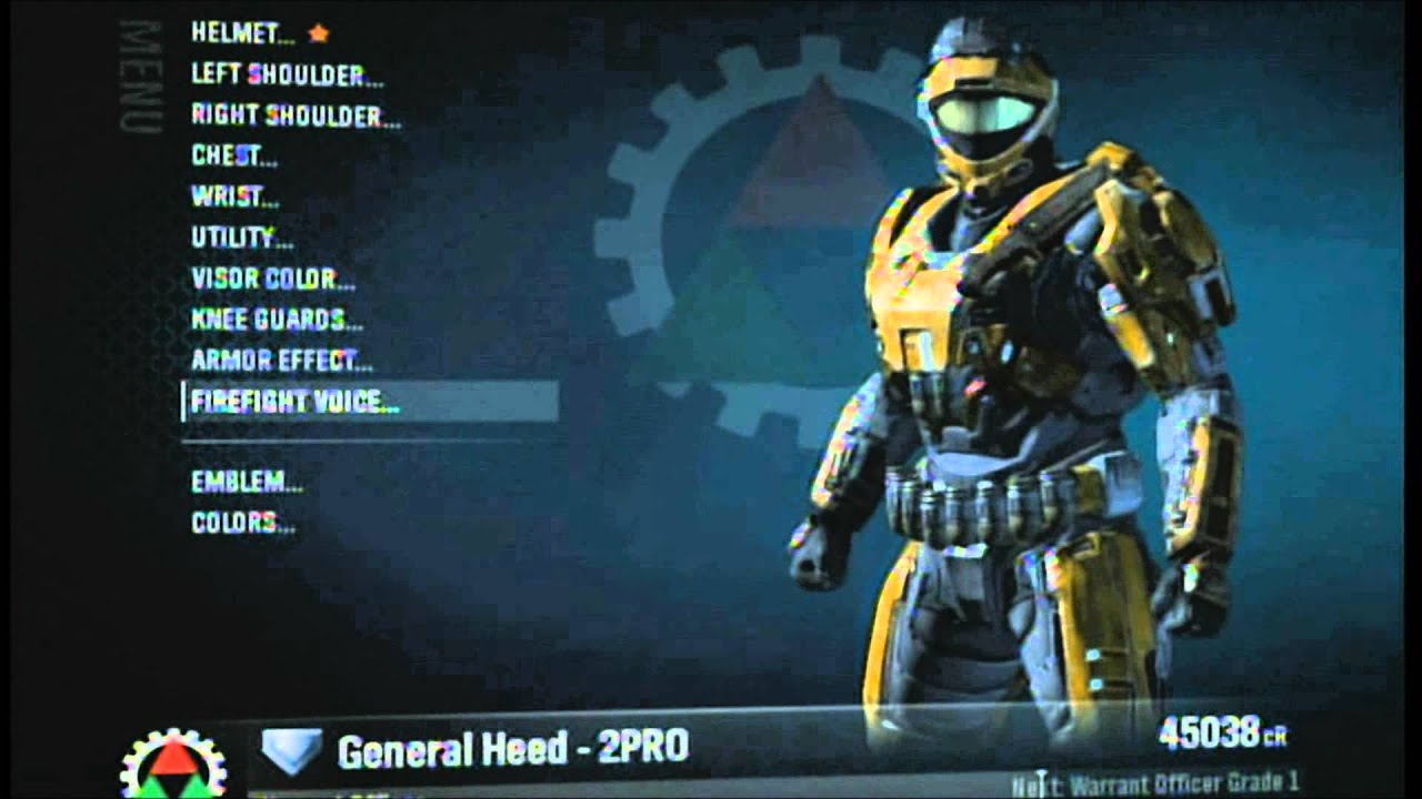 Halo: Reach - How to get blue flaming helmet and Bungie nameplate