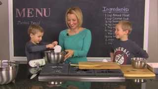 Gluten Free Zucchini Bread - Healthy Kids 4 Busy Families Episode # 3