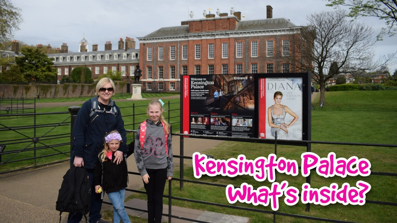 Kensington Palace Tour With Princess Diana Exhibition Video   Here Come The  Hoopers