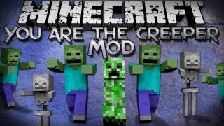 Minecraft Mods | YOU ARE THE CREEPER MOD - Summany an Army! - Mod Showcase