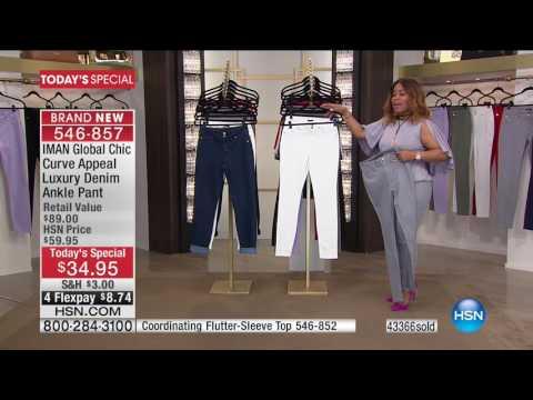 HSN | IMAN Global Chic Fashions 06.10.2017 - 04 PM