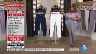 HSN   IMAN Global Chic Fashions 06.10.2017 - 04 PM