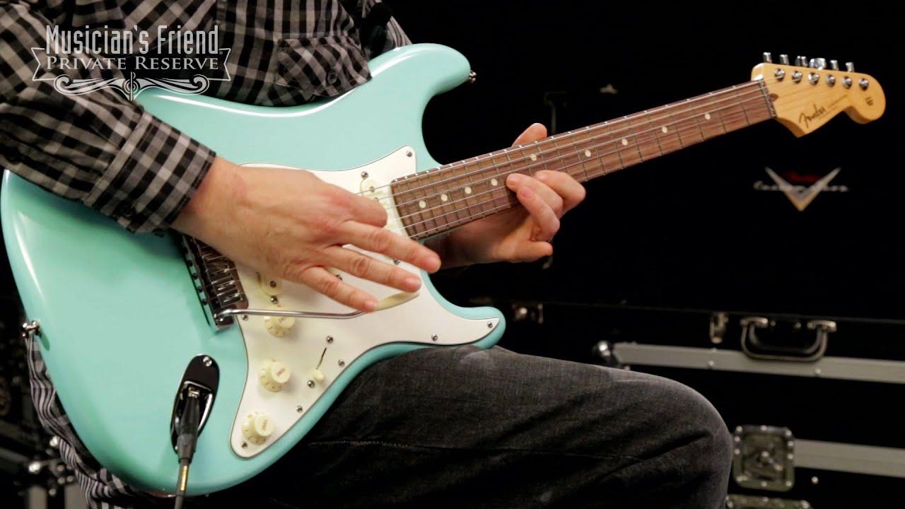 Fender Vintage Noiseless Strat Pickup Set Musicians Friend >> Fender Custom Shop Custom Artist Series Jeff Beck Signature Stratocaster Electric Guitar