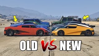 GTA 5 ONLINE - NEW VS OLD (WHICH IS FASTEST?)