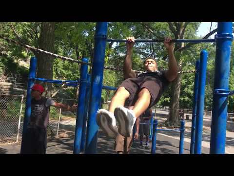 IAMPOWER WORKOUT AT HARLEM PART2