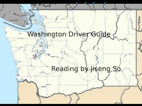 Washington Driver Guide - A Reading (2012)