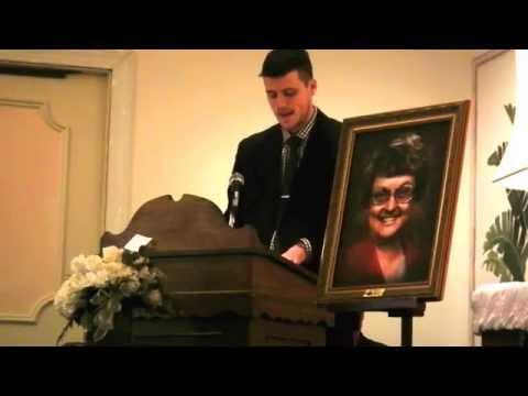 How to write a eulogy speech