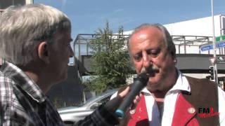 Alpentrio Tirol - Georg Astenwald beim FM1 Melody Interview mit Werner Plüss