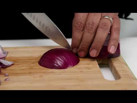 Consejos de Cocina de Royal Prestige - Diferentes tipos de corte de cebolla