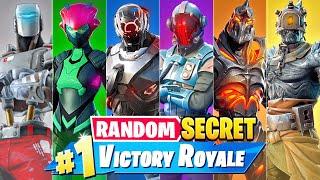 The *RANDOM* SECRET BOSS Challenge in Fortnite!