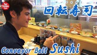 JAPANESE SUSHI KAITENZUSHI - CONVEYOR BELT SUSHI