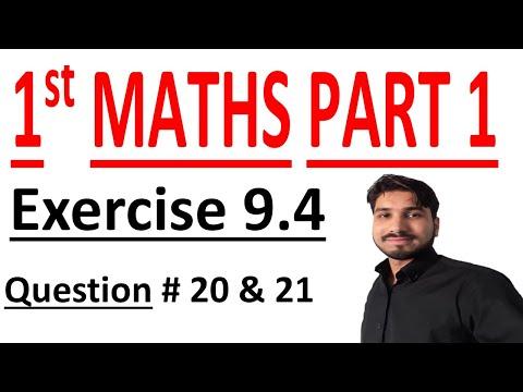 FSC Math book 1 ch 9 Lec 11 Exercise 9.4 Q no 20 & 21 Math Chapter 9 Fundamentals of Trigonometry