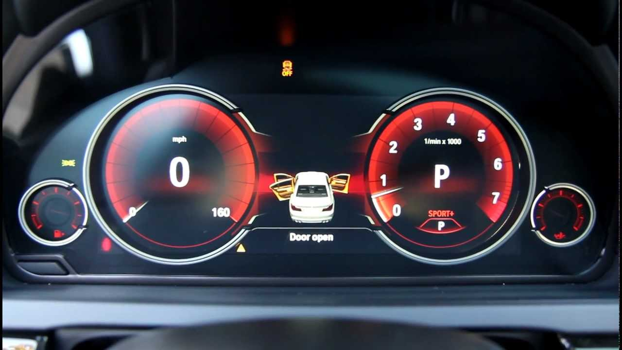 New Bmw Digital Lcd Instrument Gauges Display From 7 Series Lci Youtube